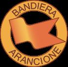 logo bandiera arancione