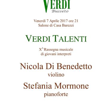 Verdi Talenti - Venerd+¼ 7 Aprile 2017-1