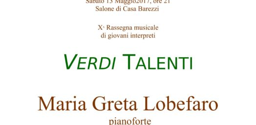 Verdi talenti - 13 Maggio 2017-1