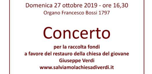 Locandina Concerto 27 ottobre 2019